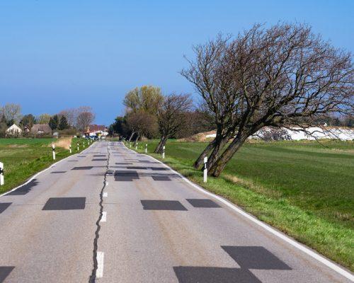 Straße in Mecklenburg-Vorpommern